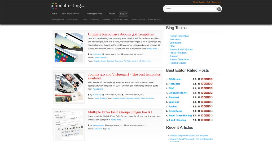 Хостинг изображений на joomla как поставить на сервер хостинга