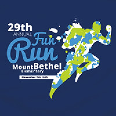 Designing a t-shirt for the 29th Mount Bethel Elementary Fun Run