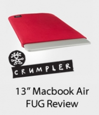 Crumpler FUG for the Mac Book Air Review